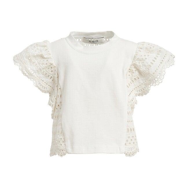 Lina T-shirt, White