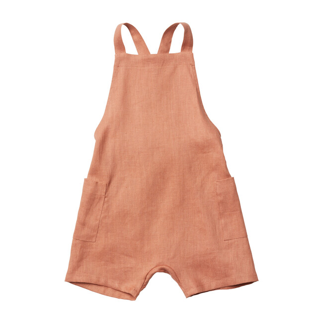 Gabriel Short Overalls, Baked Clay