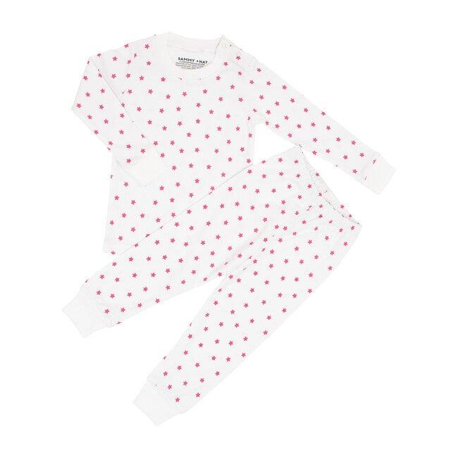 Mini Pink Star Two Piece Pajama