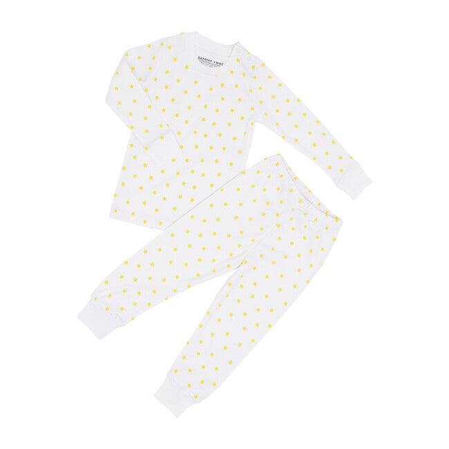 Mini Yellow Star Two Piece Pajama