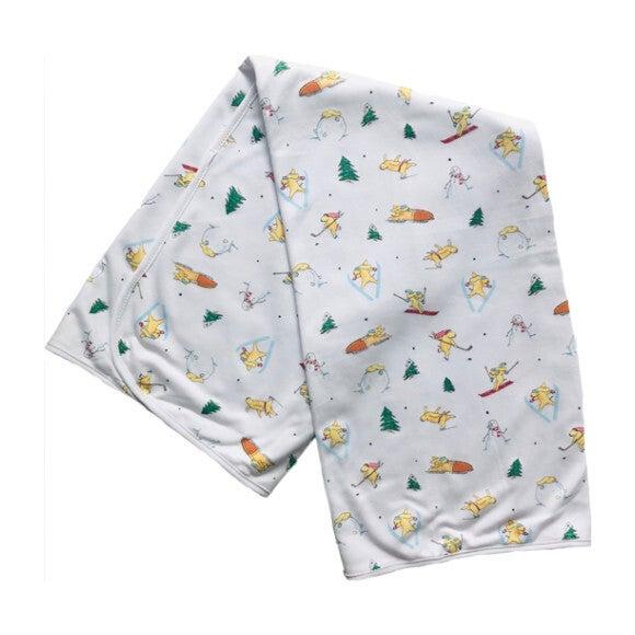 *Exclusive* Blanket, Winter Dog - Blankets - 1