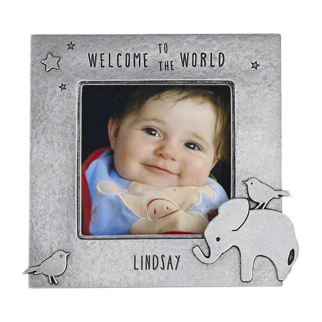 Personalized Elephant Picture Frame