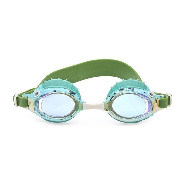 Green Gills Finley Swim Goggles, Green