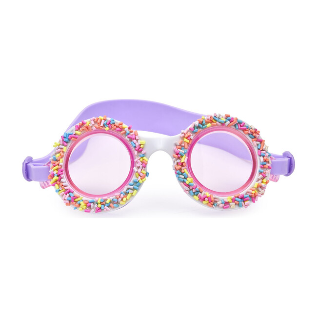 Grape Jelly Do Nuts 4 U Swim Goggles, Purple