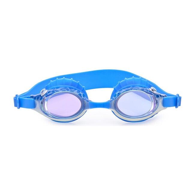 Fishing Rod Finley Swim Goggles, Blue