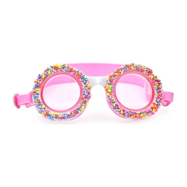 Boston Creme Pink Do Nuts 4 U Swim Goggles, Pink