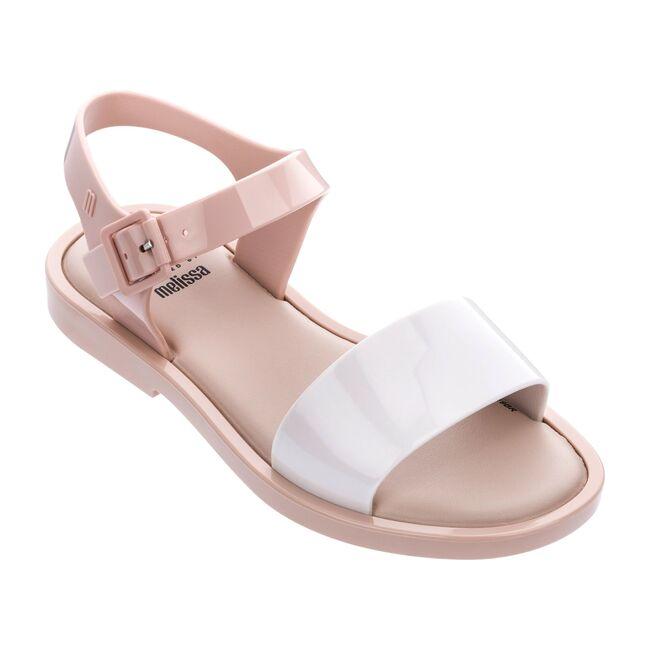 Mini Mar Sandal Kid, Beige/White/Pink