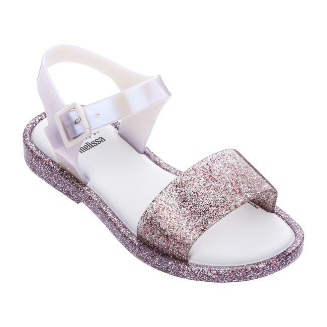 Mini Mar Sandal Kid, Pink Glitter/Pearl