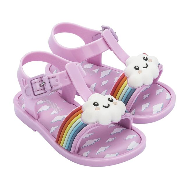 Mini Mar Sandal Sunny Day BB, Pink/Pink/White