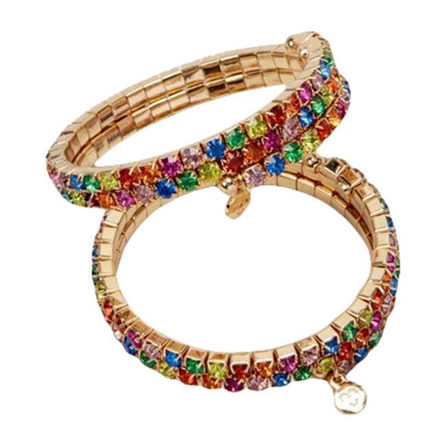 Rainbow Rave Wrap-Around Bracelet Set