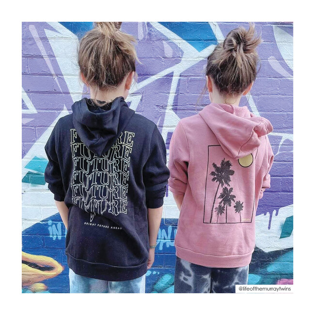 St. Tropez Hoodie, Washed Pink