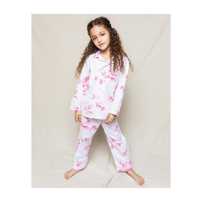 Floral Pajama Set, English Rose
