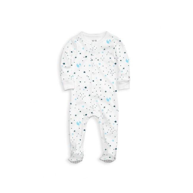 Organic Footed Pajama, Space Print