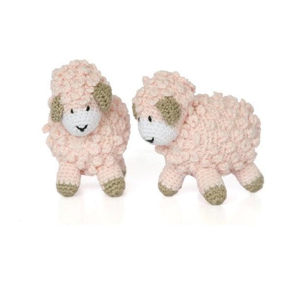 Little Crochet Sheep, Pink - Plush - 1