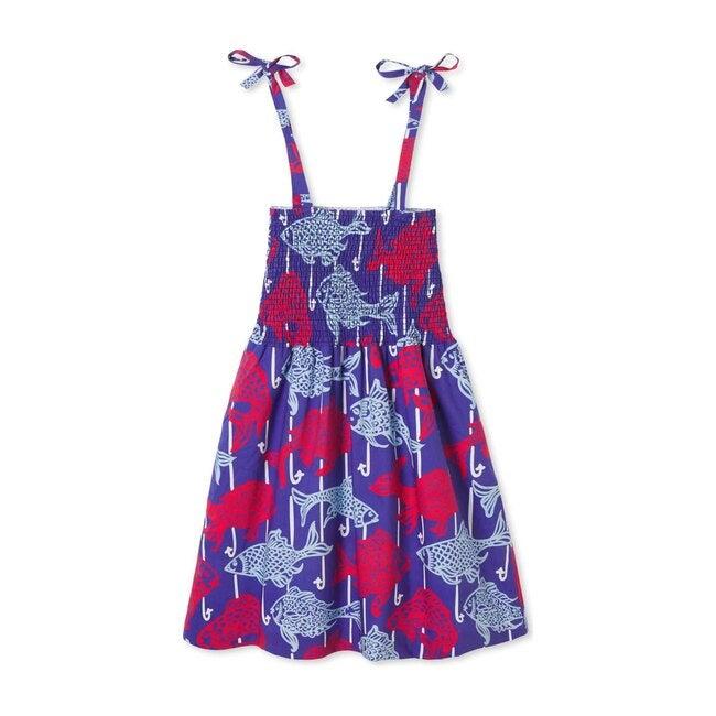 Hadley Dress, Fishy Fishy Print
