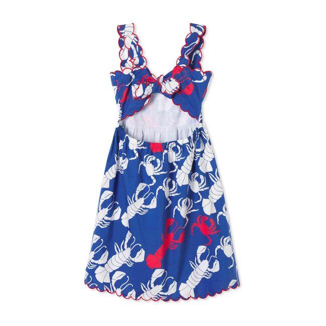 Quinn Dress, Lobster Invasion Print