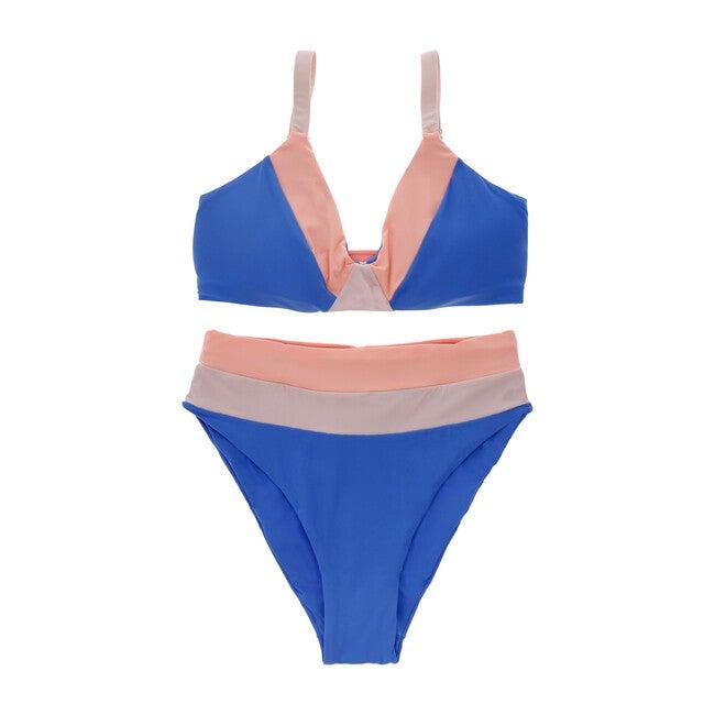 Women's Fluid Blue Callen Top