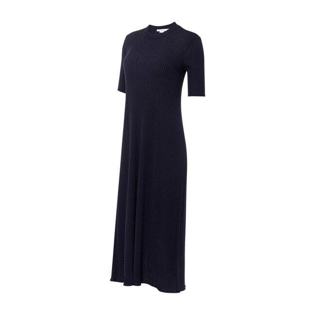 Ribbed Knit Maxi Maternity Dress