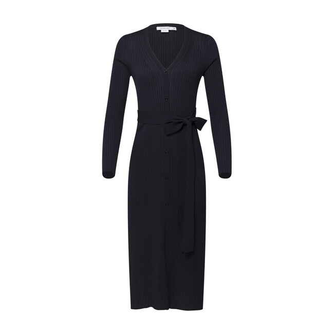 Maternity Long Sleeve Knit Cardigan Dress