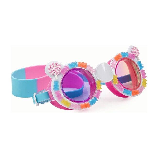 Sugar Rush Gummy Bear Goggles, Cotton Candy Pink/Blue
