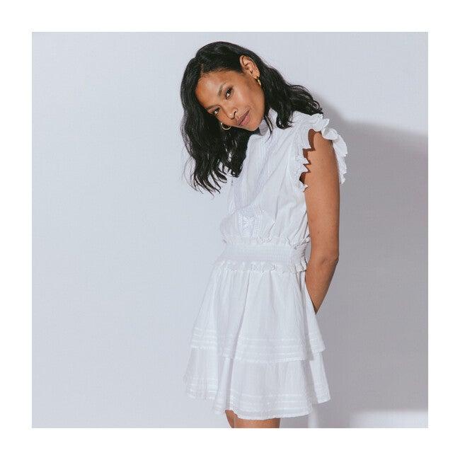 Women's Versailles Mini Dress, White