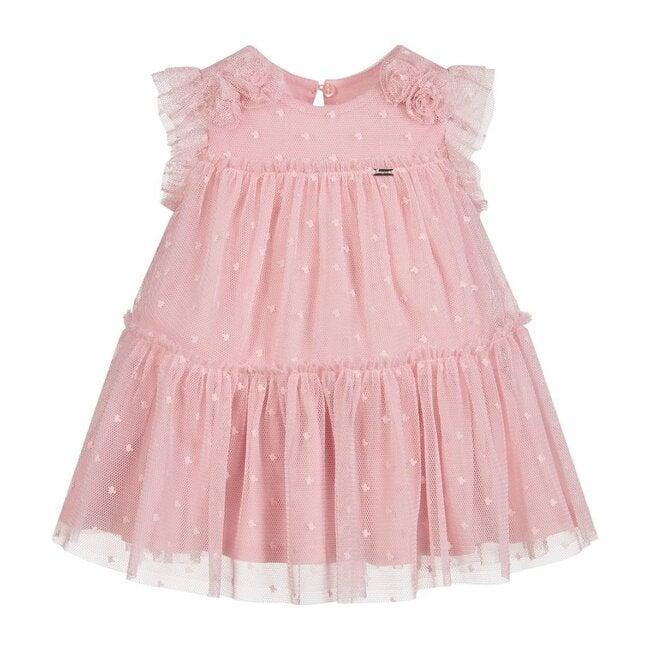Tulle Chiffon Dress, Pink
