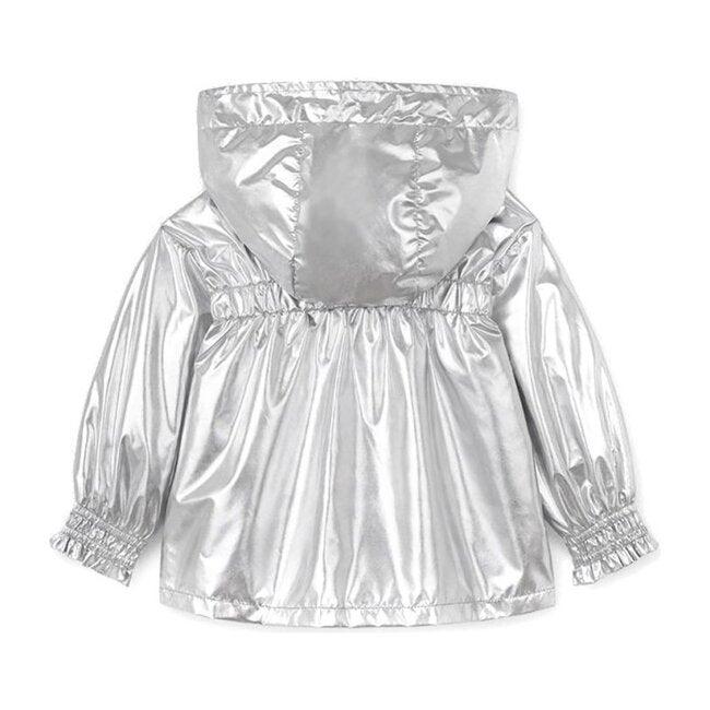 Windbreaker Jacket, Silver
