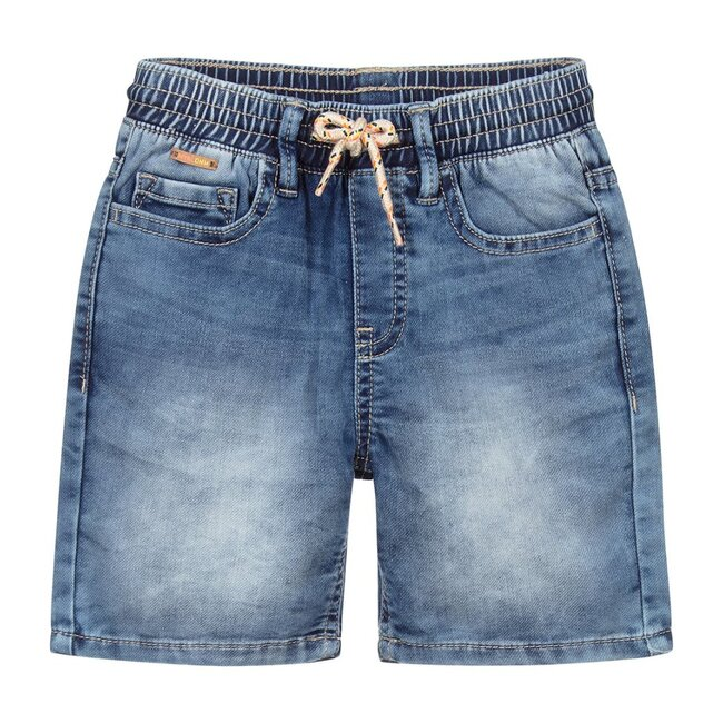 Soft Denim Shorts, Blue