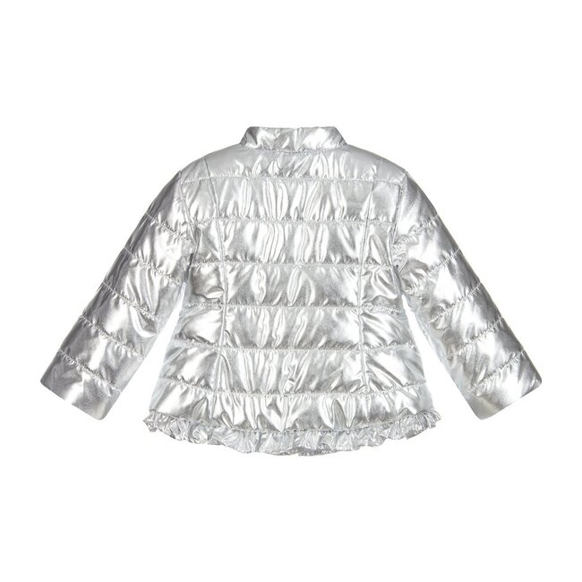 Padded Jacket, Silver
