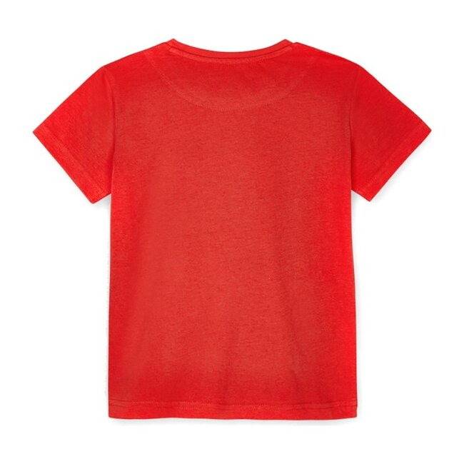 Music Graphic T-Shirt, Red