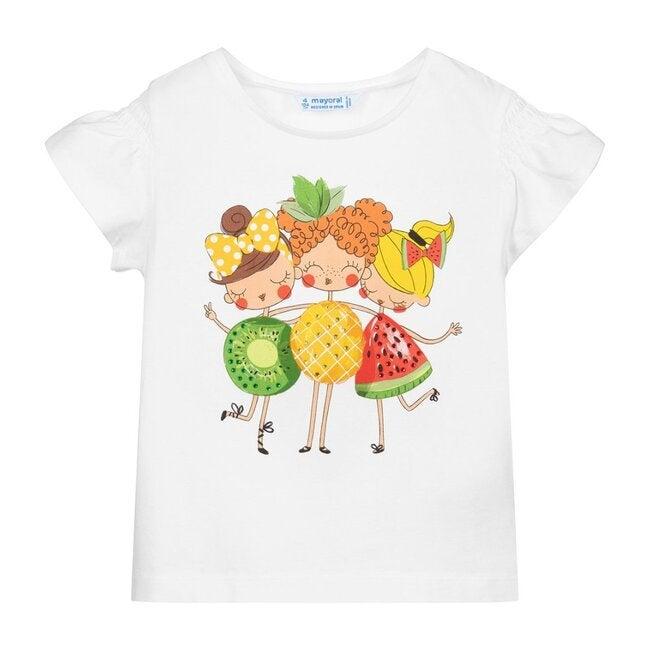 Fruit Friends T-Shirt, White
