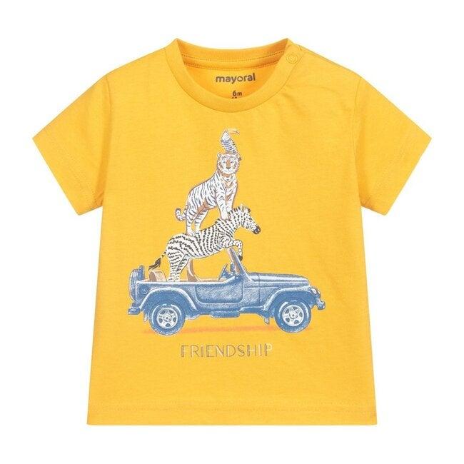 Friendship T-Shirt, Yellow