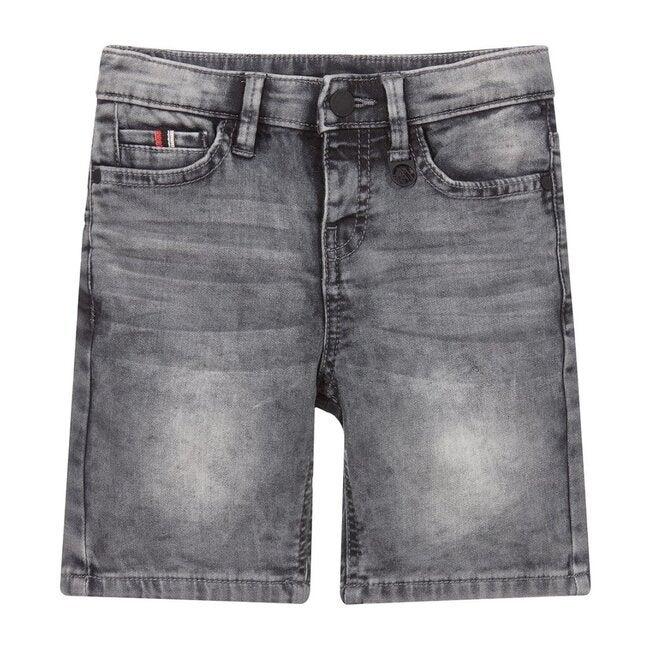 Denim Shorts, Gray