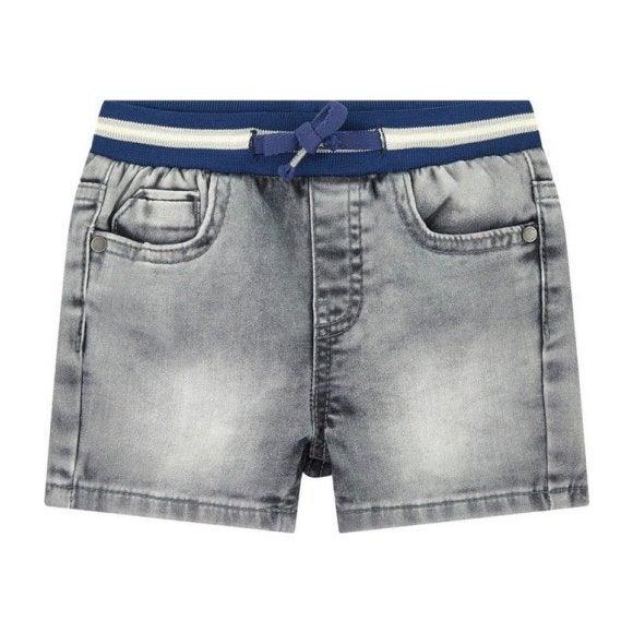 Denim Jean Shorts, Gray