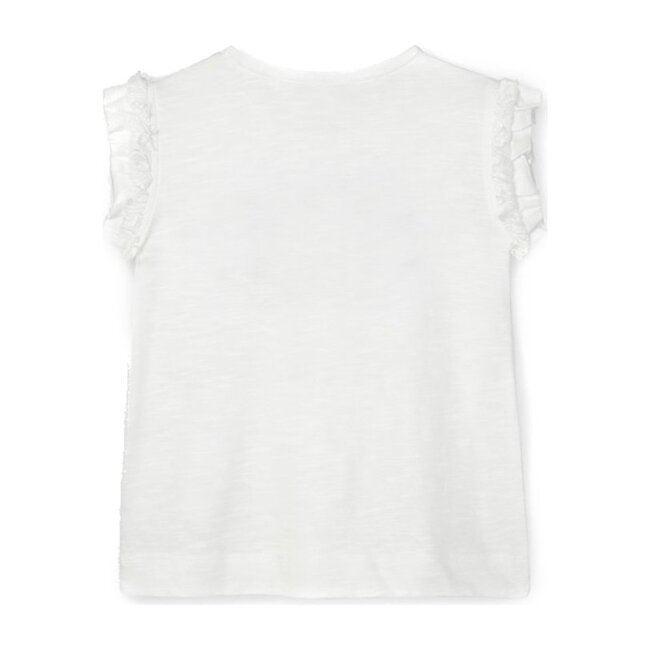 Applique T-Shirt, Off White