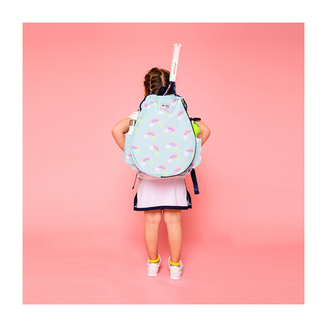 Little Love Tennis Backpack, Pastel Rainbow