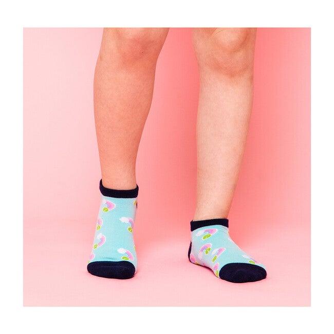 Happy Feet Socks, Pastel Rainbow