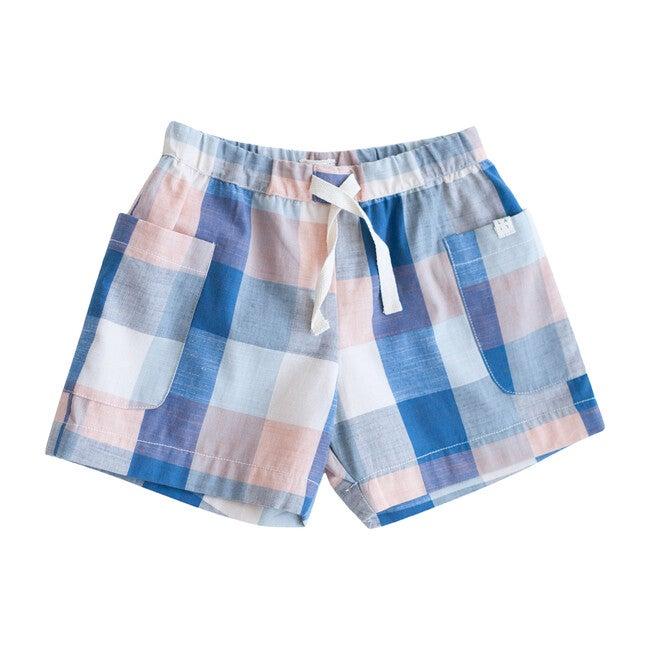 Blue Chex Birch Shorts - Shorts - 1