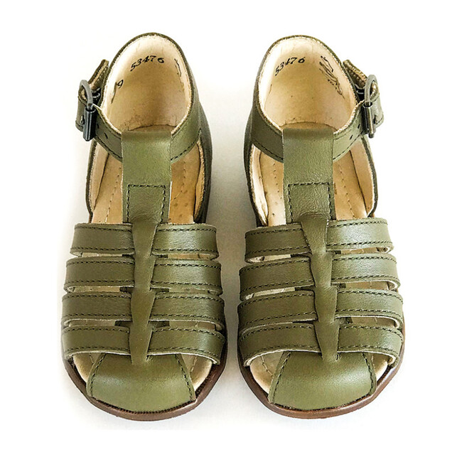 Jules T-Strap Sandal, Kaki