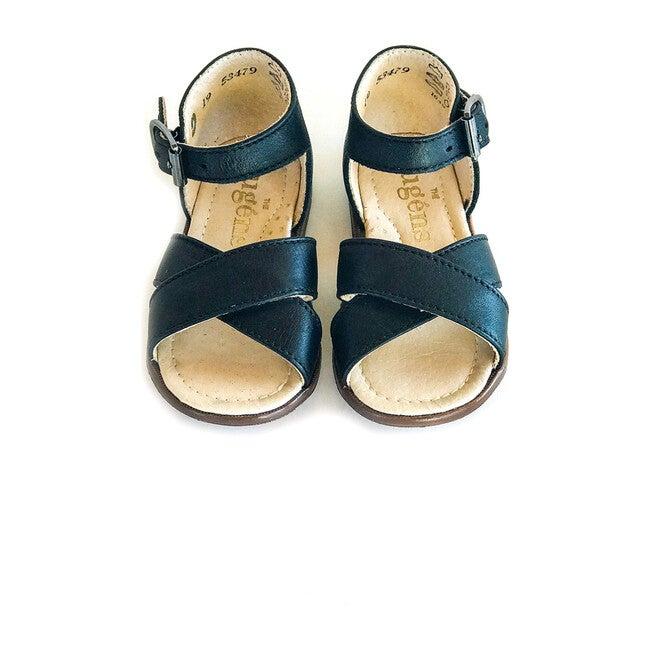 Athina Ankle Strap Sandal, Noir