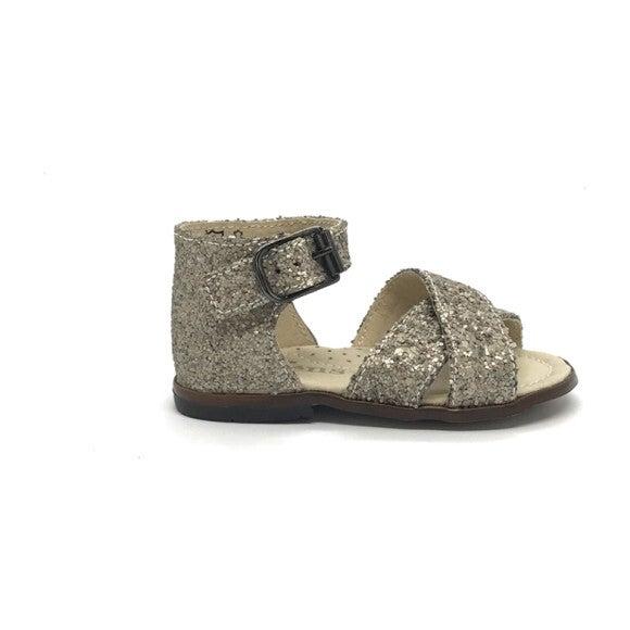 Athina Ankle Strap Sandal, Glit Vision
