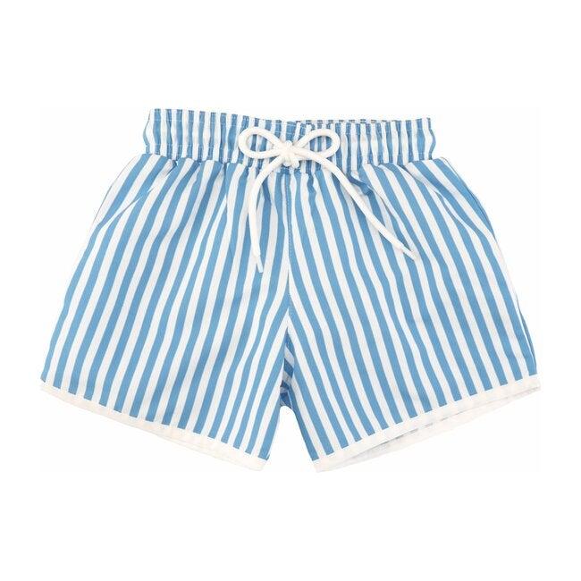 Jude Boardshorts, Royal Blue Stripe