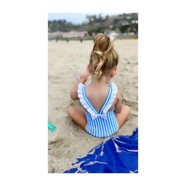 Ayla Rulffe One Piece, Royal Blue Stripe