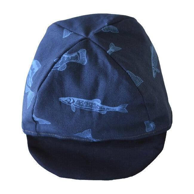 Cap, Blue Fish