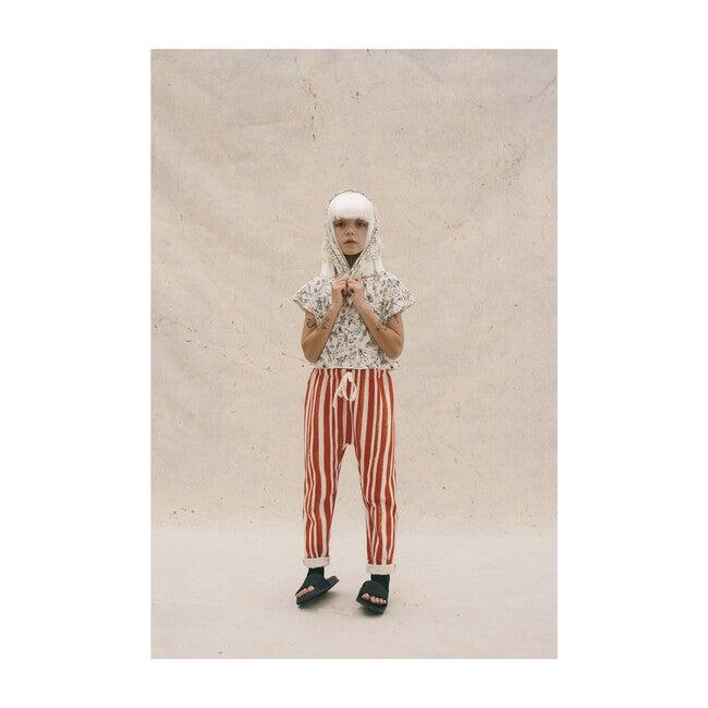 Roller Coaster Pants, Red Stripe