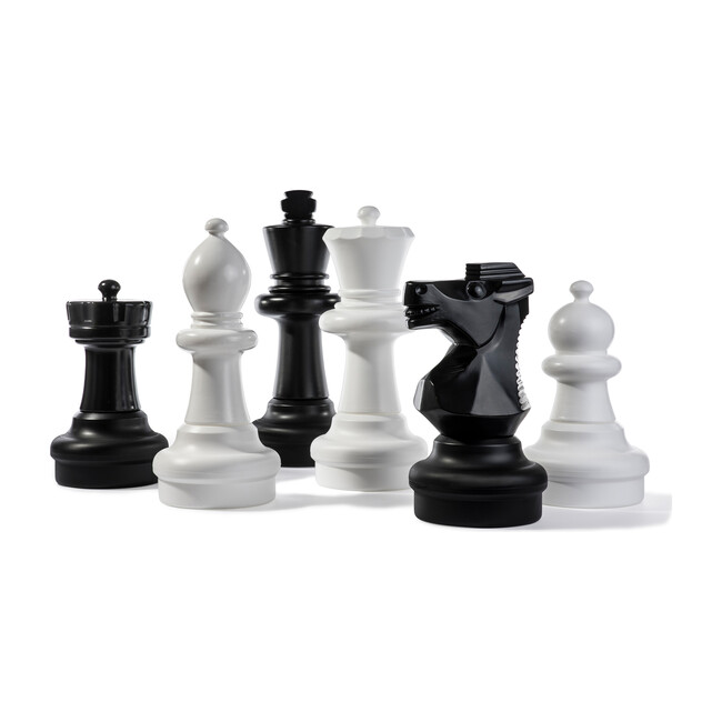 Rolly Chess Pieces, Large