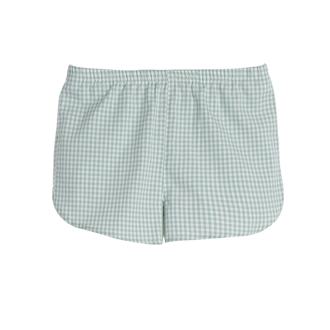 Catherine Short, Mini Sage Gingham