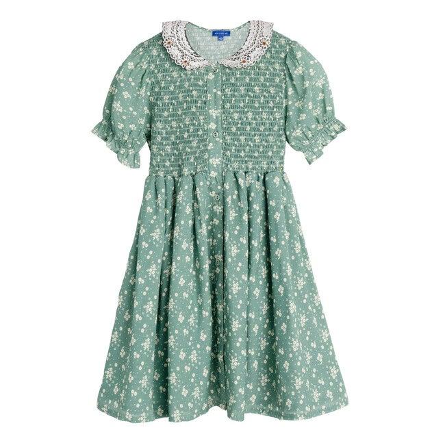 Marisol Dress, Sage Floral