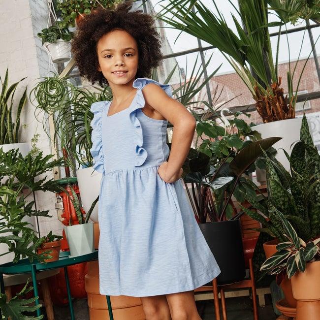 Tiffany Dress, Peri Blue