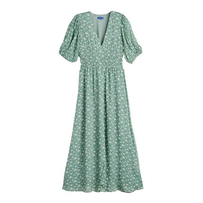Margherita Women's Dress, Sage Floral